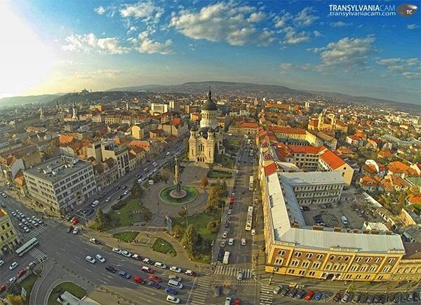 Clădirile din centrul Clujului vor fi renovate până în 2015