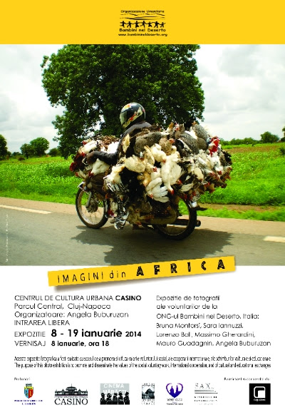 """Expozitia """"Imagini din Africa"""", pana in 19 ianuarie la Centrul de Cultura Urbana Casino"""