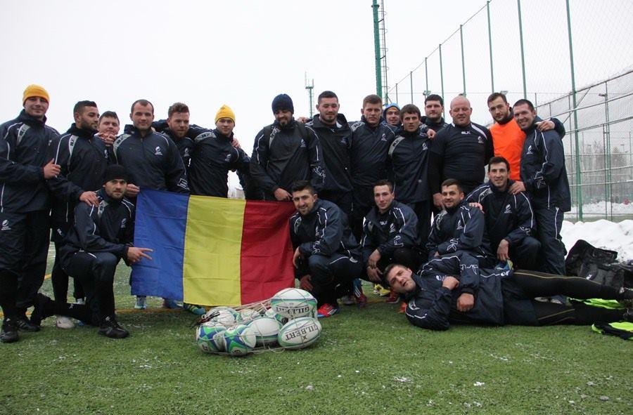 nationala de rugby a romaniei, antrenament la cluj