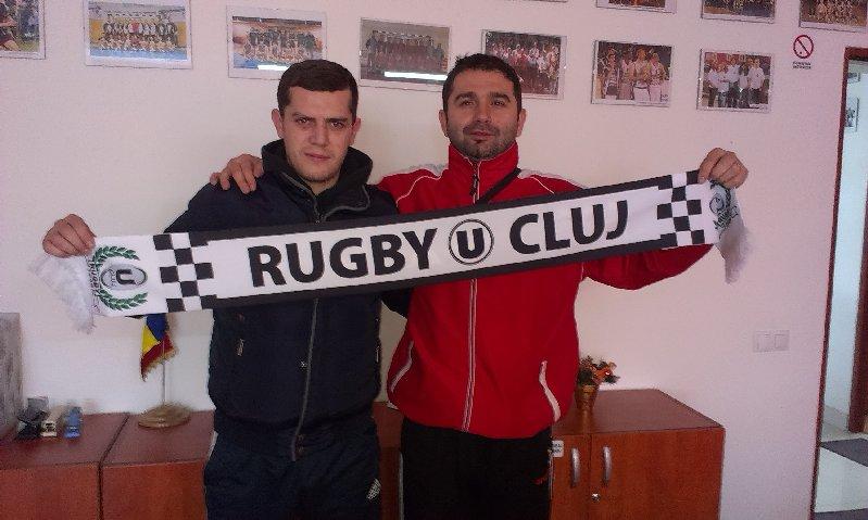 Echipa de rugby a Universitatii Cluj bifeaza al 5-lea transfer