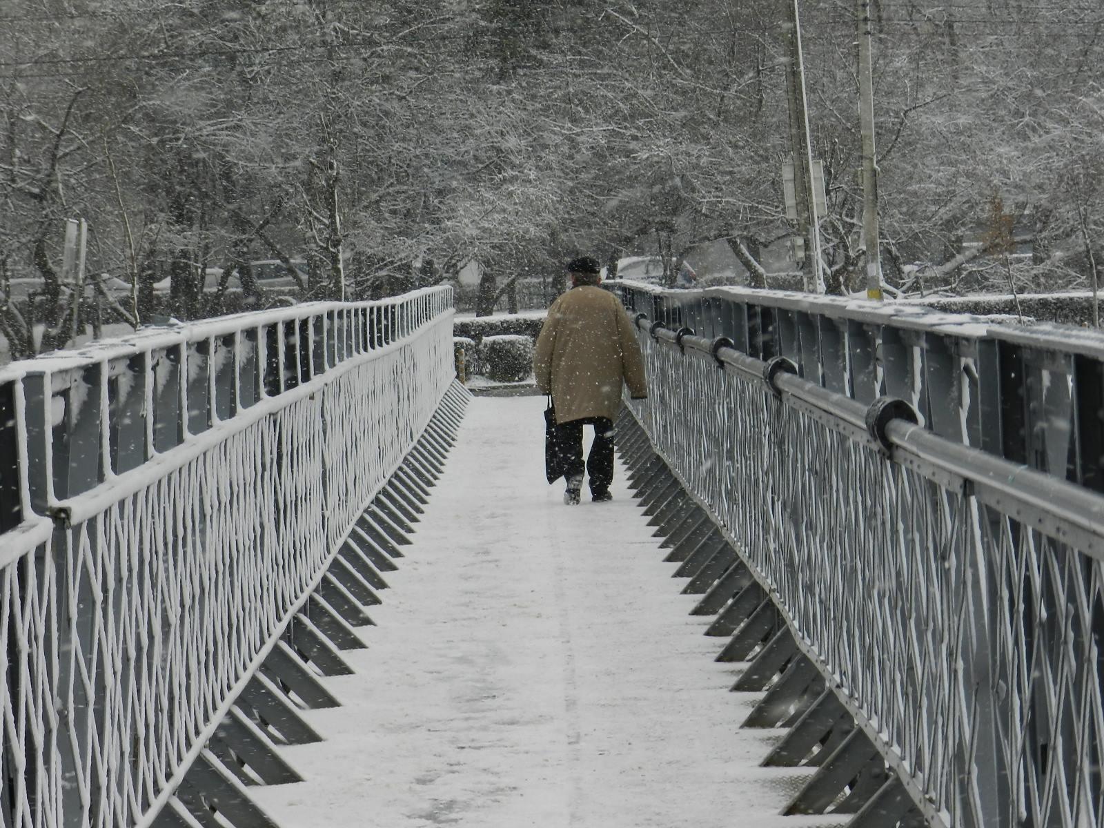 Nu exista drumuri inchise in judetul Cluj din cauza ninsorii