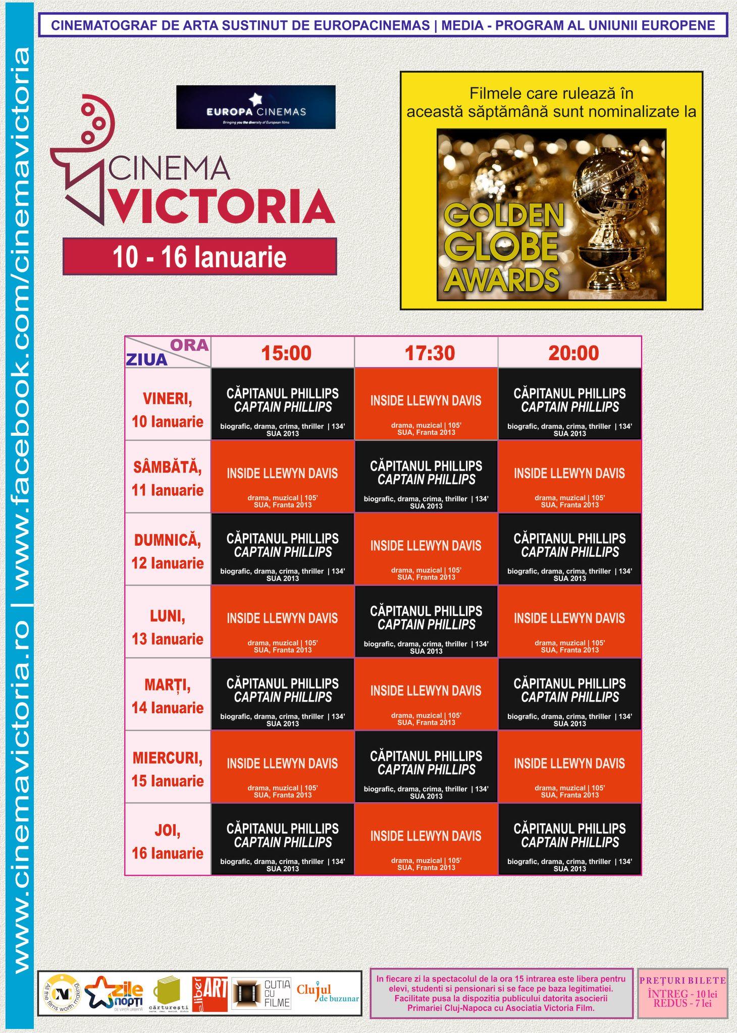 program victoria 10-16 ian 2014