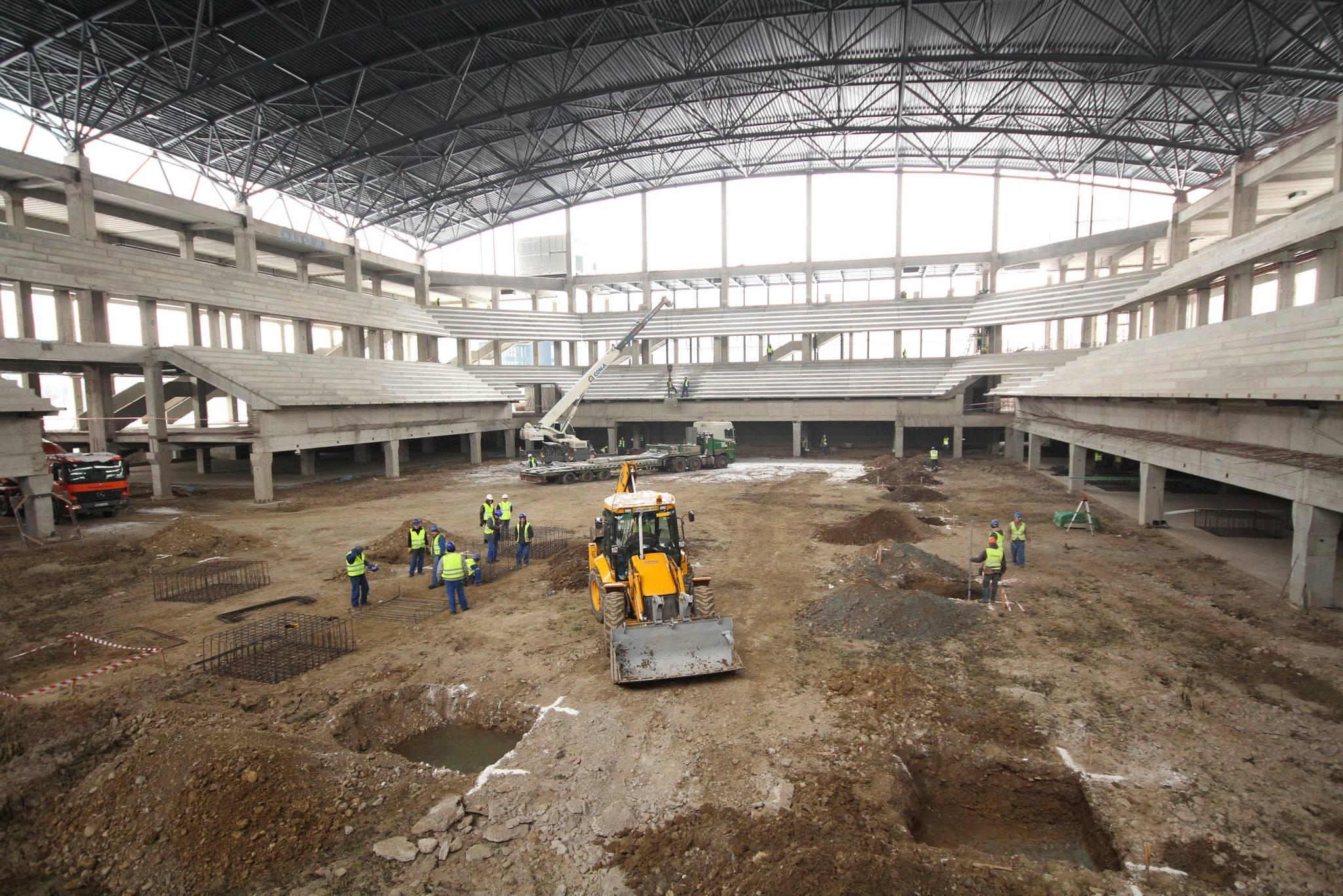 Sala Polivalenta va fi data in functiune in toamna acestui an