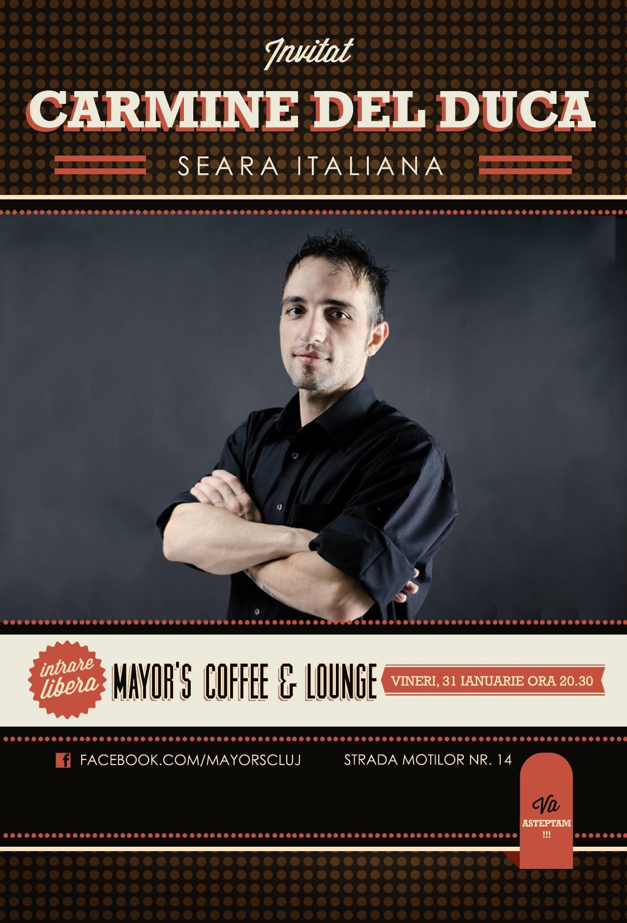 seara italiana mayor's coffe lounge