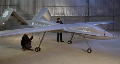 aeronava fara pilot ARCA