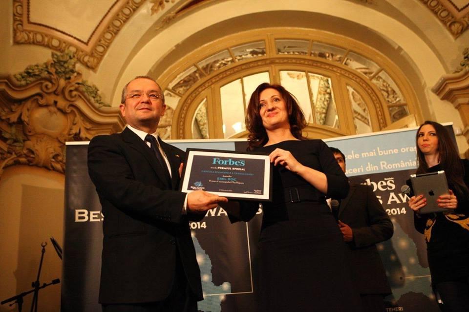 emil boc premiu cluj capitala economica a transilvaniei
