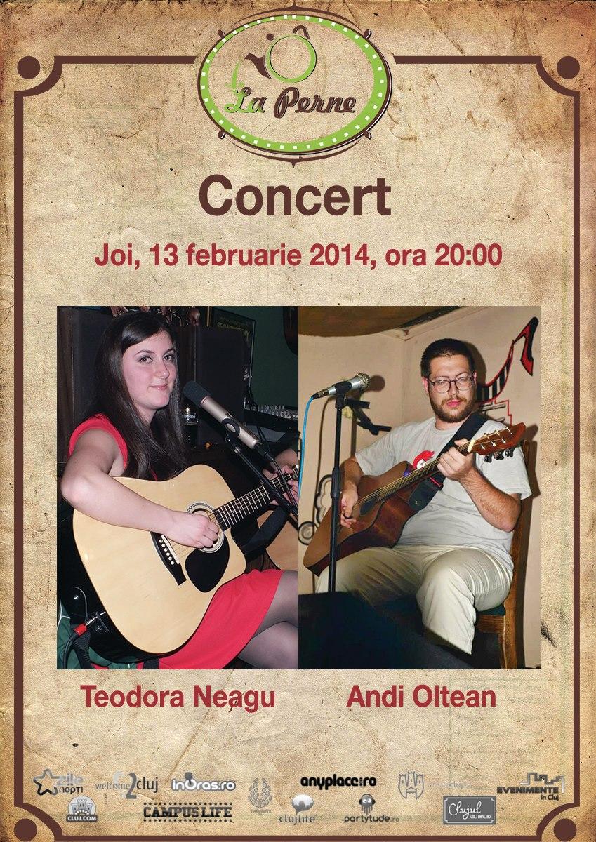 Concert Teodora Neagu si Andi Oltean @ La Perne