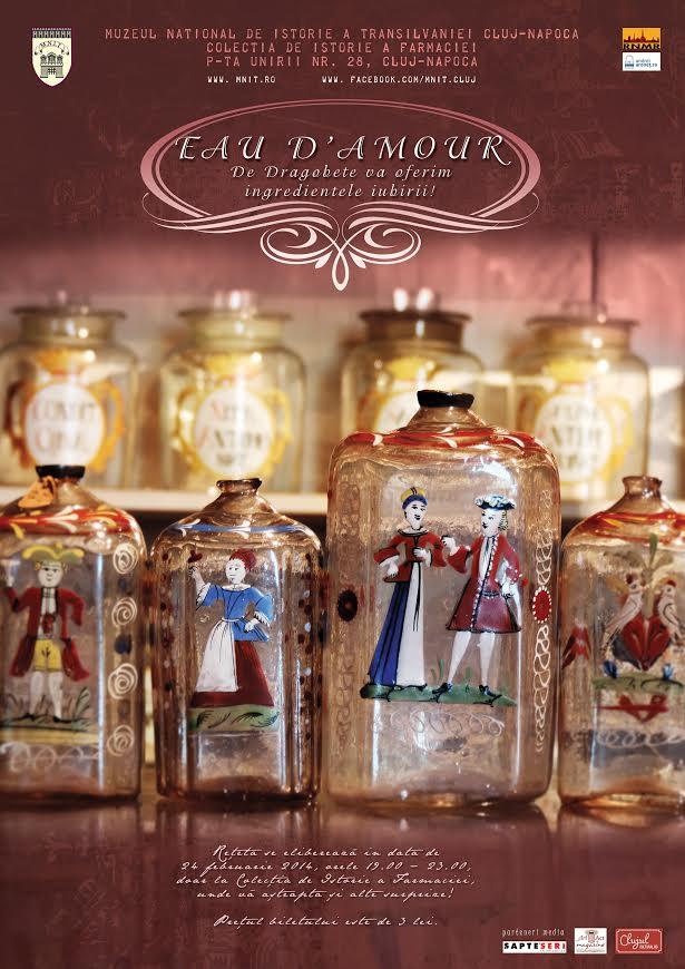 "Reteta ""parfumului iubirii"", disponibila de Dragobete la Muzeul Farmaciei din Cluj-Napoca"