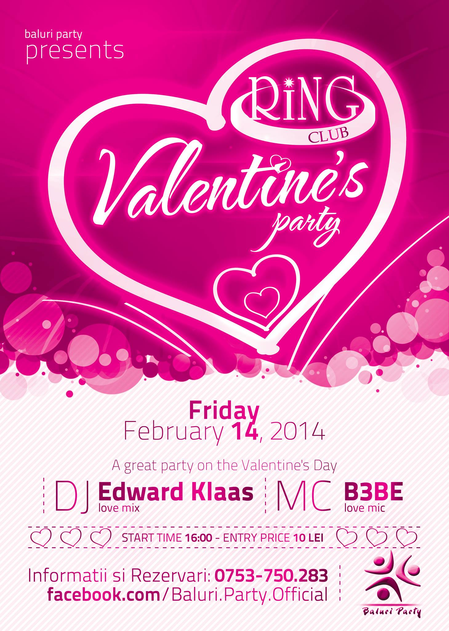 Valentine's Party @ Club Ring