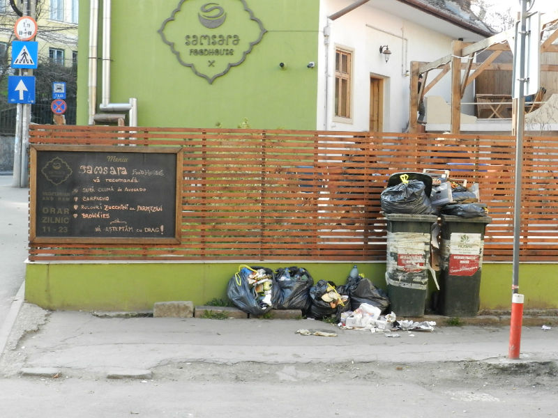 La Samsara Foodhouse gunoaiele fac parte din meniul zilei!