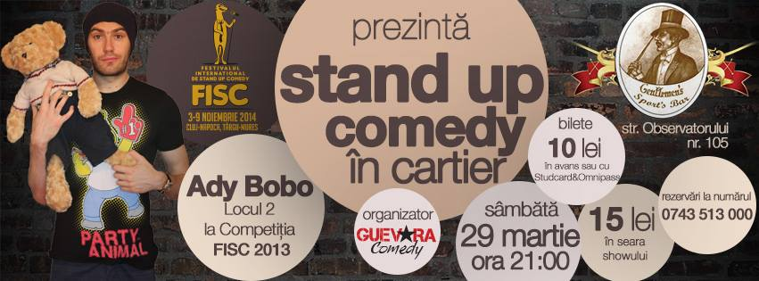 ady bobo stand up comedy fisc