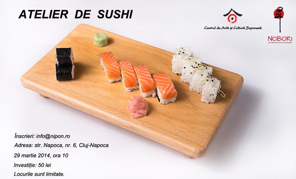 atelier de sushi la cluj