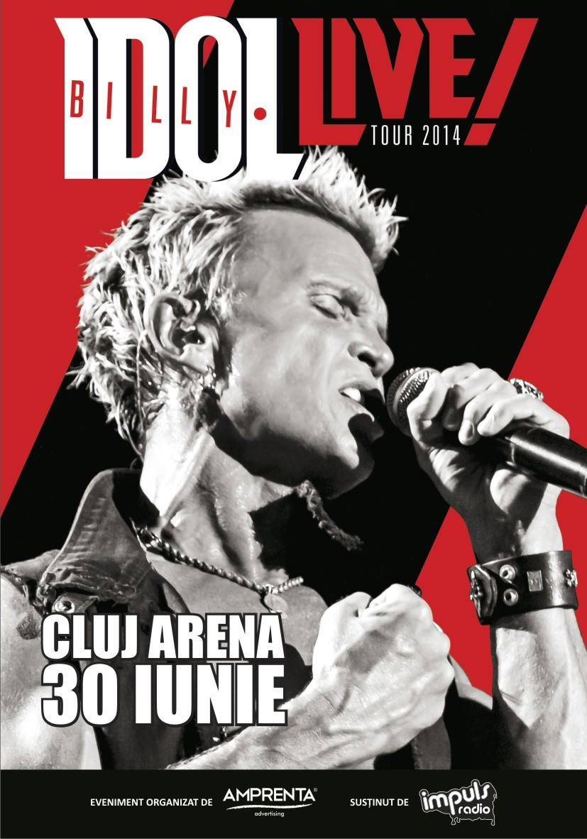 billy idol cluj arena