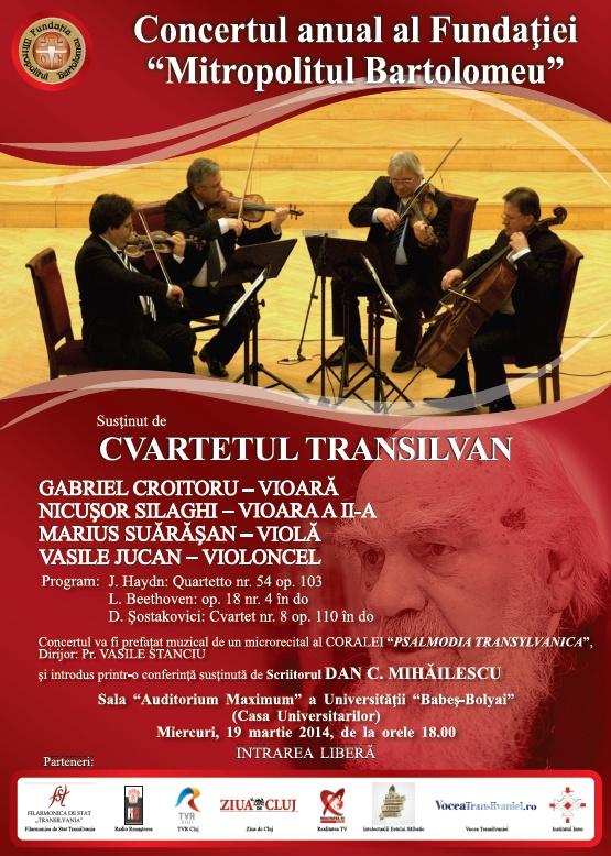 concert cvartet transilvania