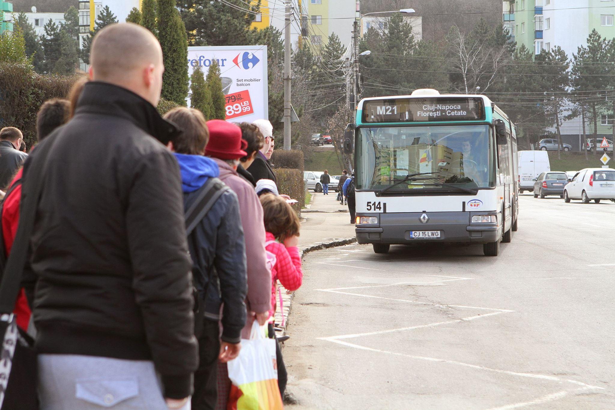 CTP Cluj: Inca trei linii metropolitane de transport in comun de la 1 aprilie