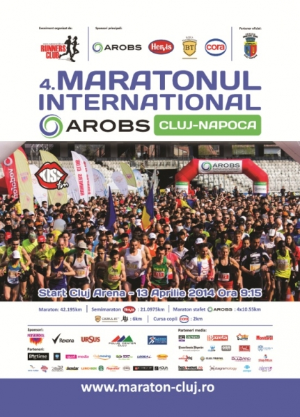 maratonul international arobs cluj