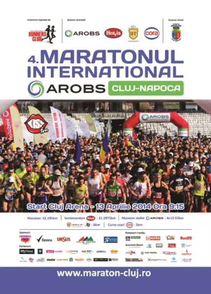 Maratonul Internațional Cluj-Napoca va lua startul in 13 aprilie