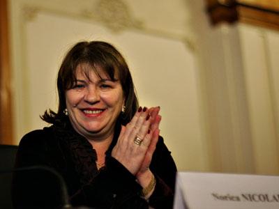 Norica Nicolai candidează la europarlamentare, propusă de Cluj