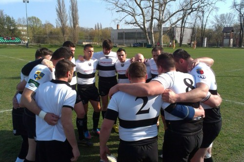 Echipa de rugby a Universitatii a invins nationala Ungariei