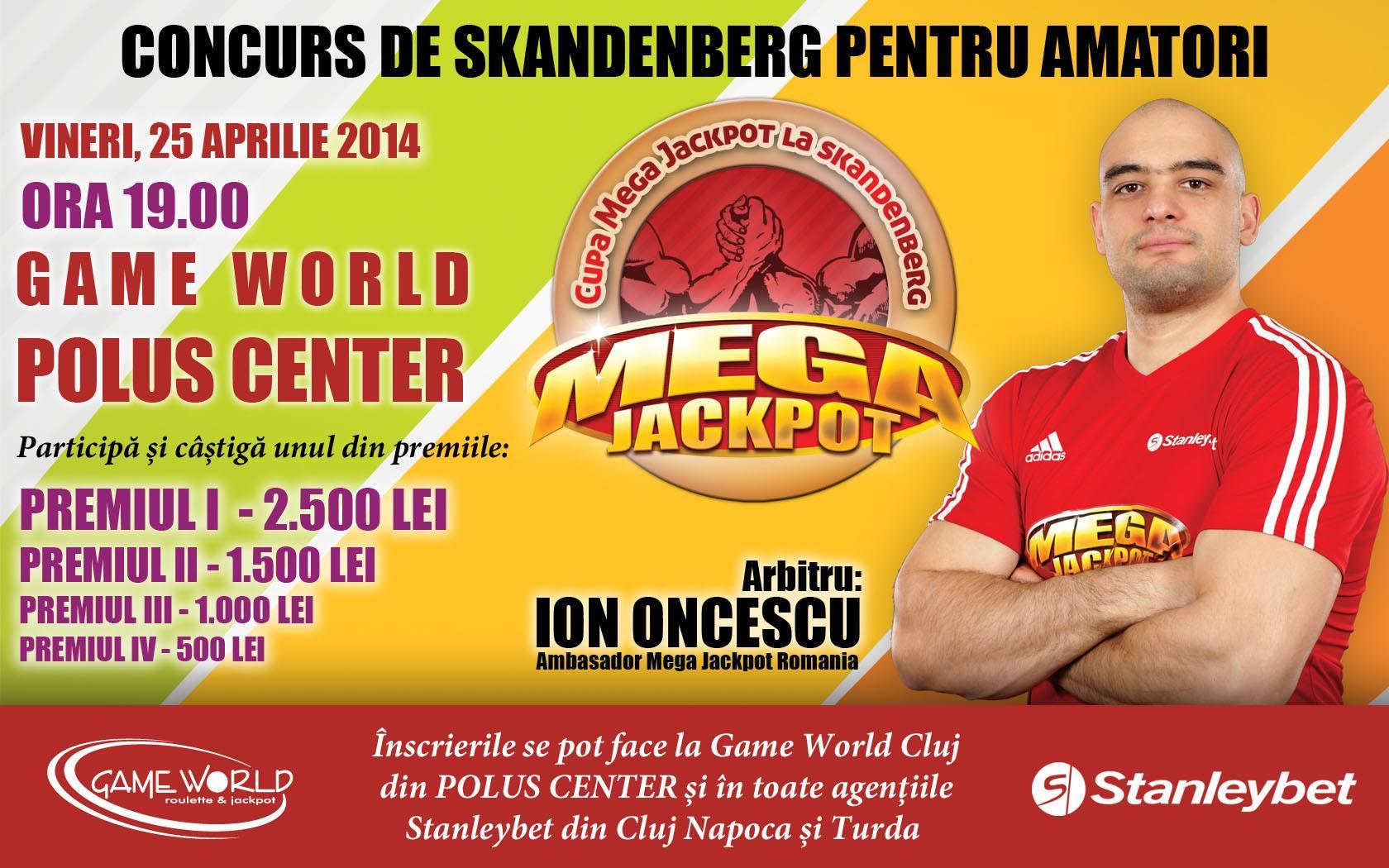 Concurs de Skandenberg pentru amatori, vineri, la Polus Center
