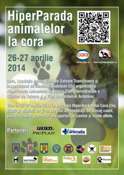 hiperparada animalelor cora 2014