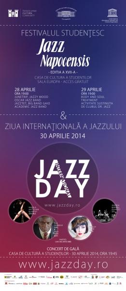 Finalul lunii aprilie este dedicat jazz-ului de calitate la Cluj-Napoca