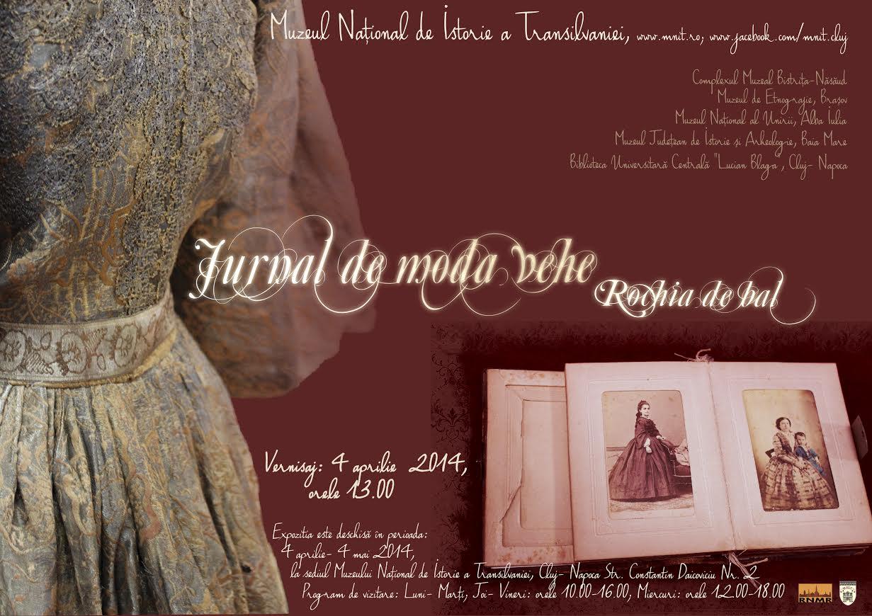 jurnal de moda veche expozitie MNIT