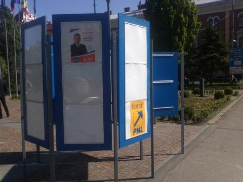 Unde vor fi amplasate panourile electorale în Cluj-Napoca!