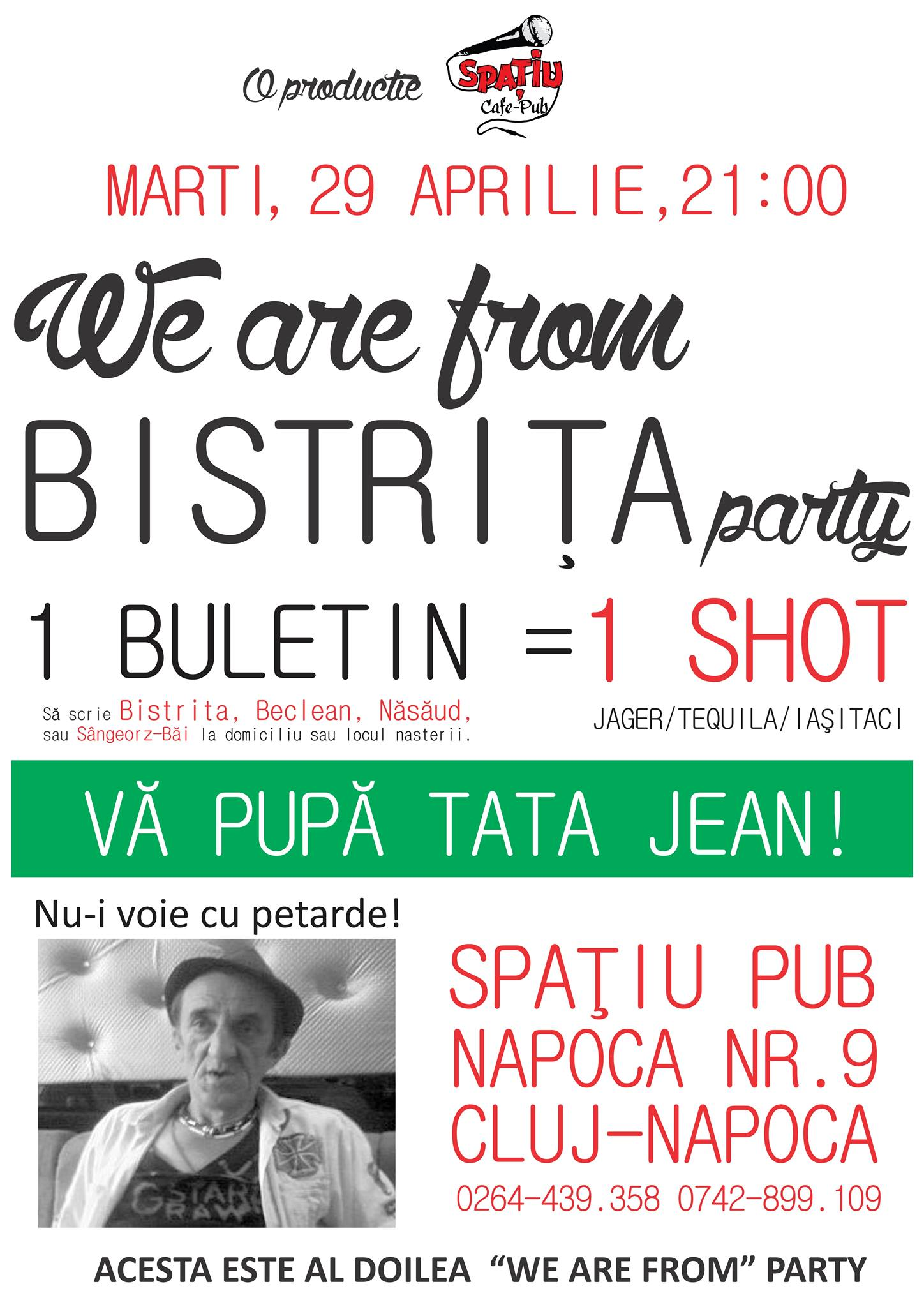 we are from bistrita party
