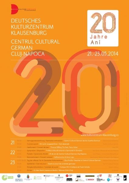 20 ani centrul cultural german