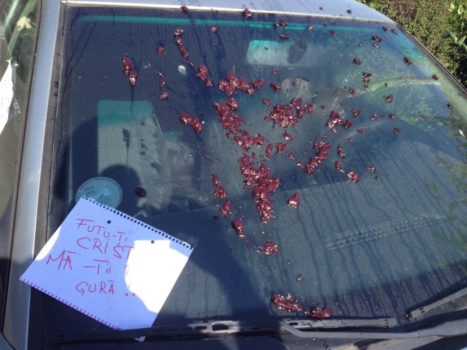 Un clujean l-a taxat DUR pe un sofer care si-a lasat alarma de la masina sa sune toata noaptea! FOTO