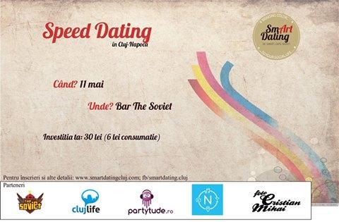 Speed Dating la Cluj, joi, 11 mai, in Soviet Pub