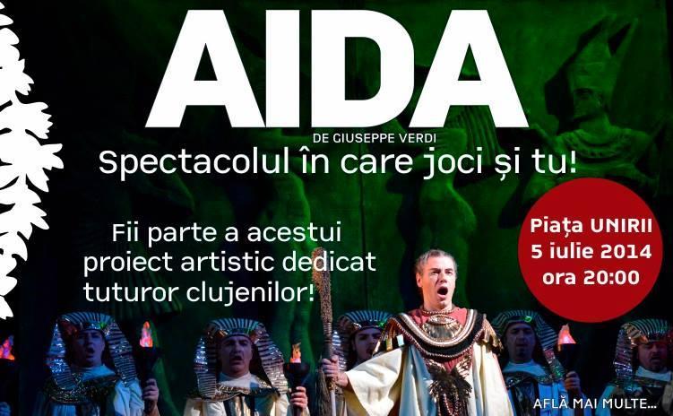 Clujenii sunt invitati la un spectacol de opera in Piata Unirii
