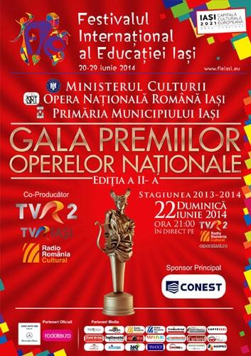 Clujul a avut 13 nominalizari la Gala Operelor Nationale