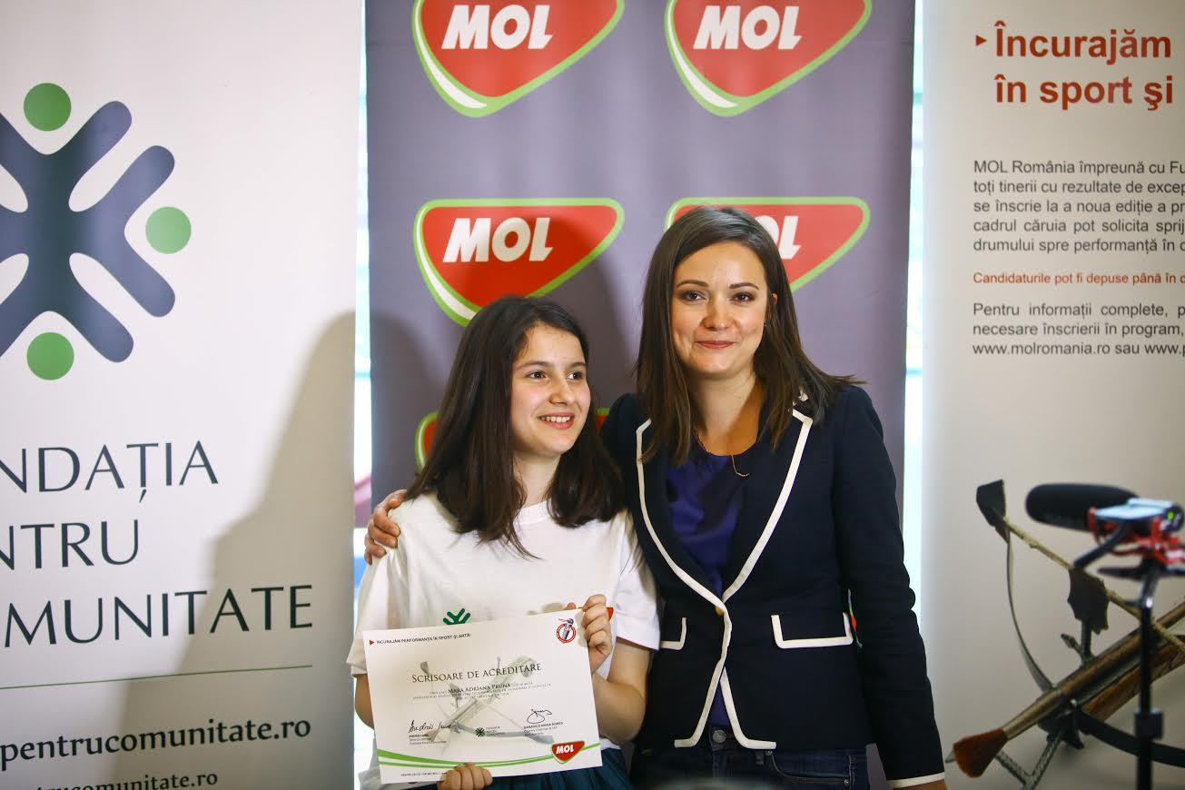 Tânăra compozitoare Mara Prună din Cluj, ambasadoarea talentului, intr-un program pentru promovarea artiștilor și sportivilor talentați