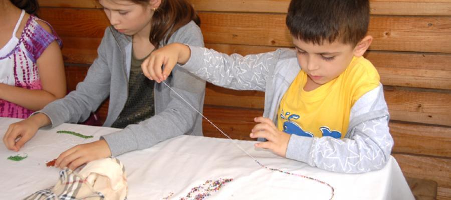 Tabara de vara pentru copii la Muzeul Etnografic