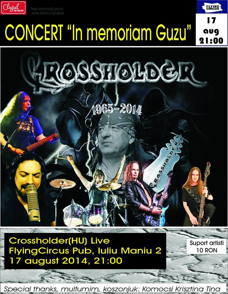 concert crossholder in memoriam guzu