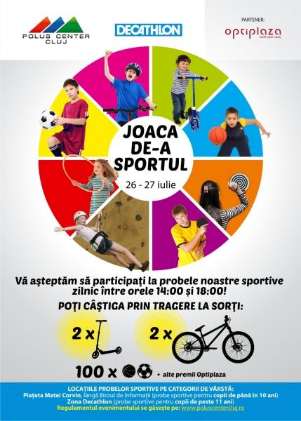 joaca de-a sportul polus