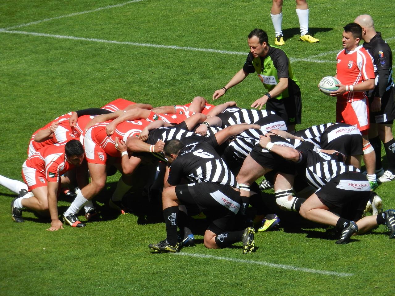 Înfrângere dramatică în primul meci din play-out pentru rugbyiști