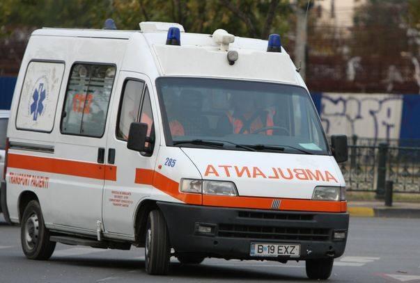 Un bărbat a încercat să fure o ambulanță de pe strada Daciei din Cluj