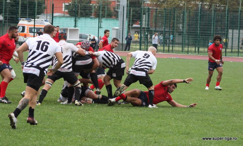 rugby U CLuj - Steaua super-liga.ro