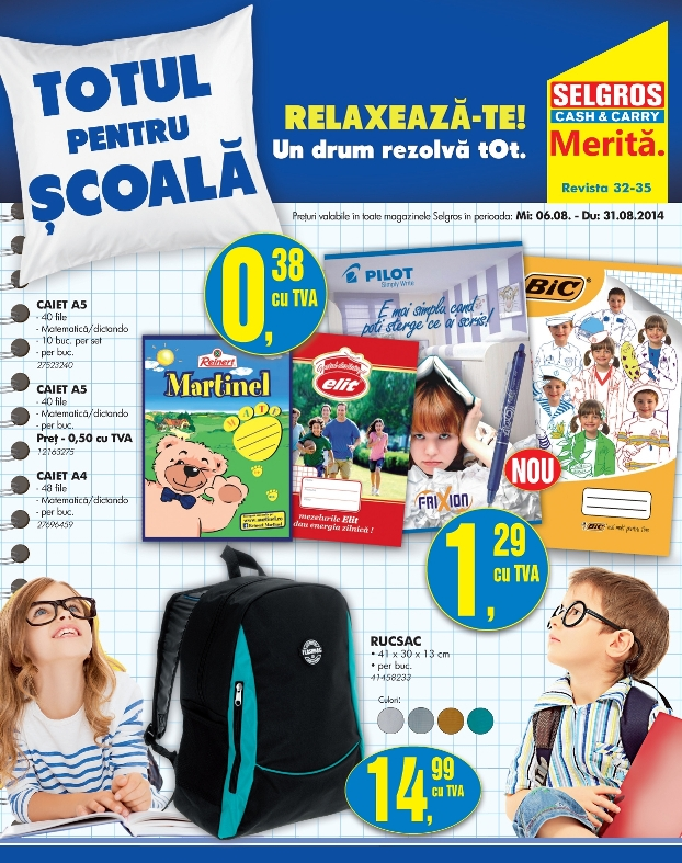selgros cash carry back to school