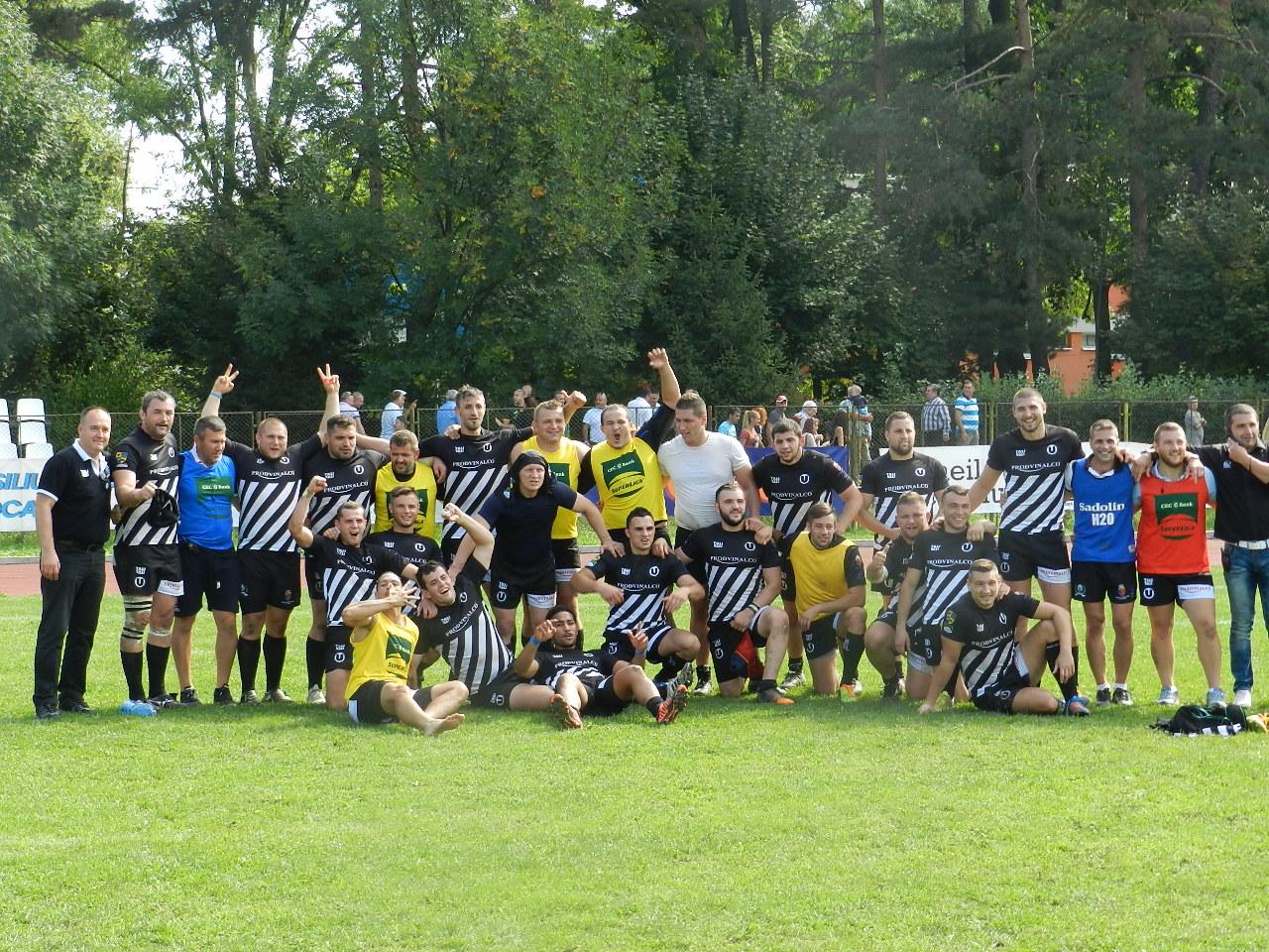 Rugbyiștii clujeni termină sezonul pe locul 5 în Super Liga CEC Bank