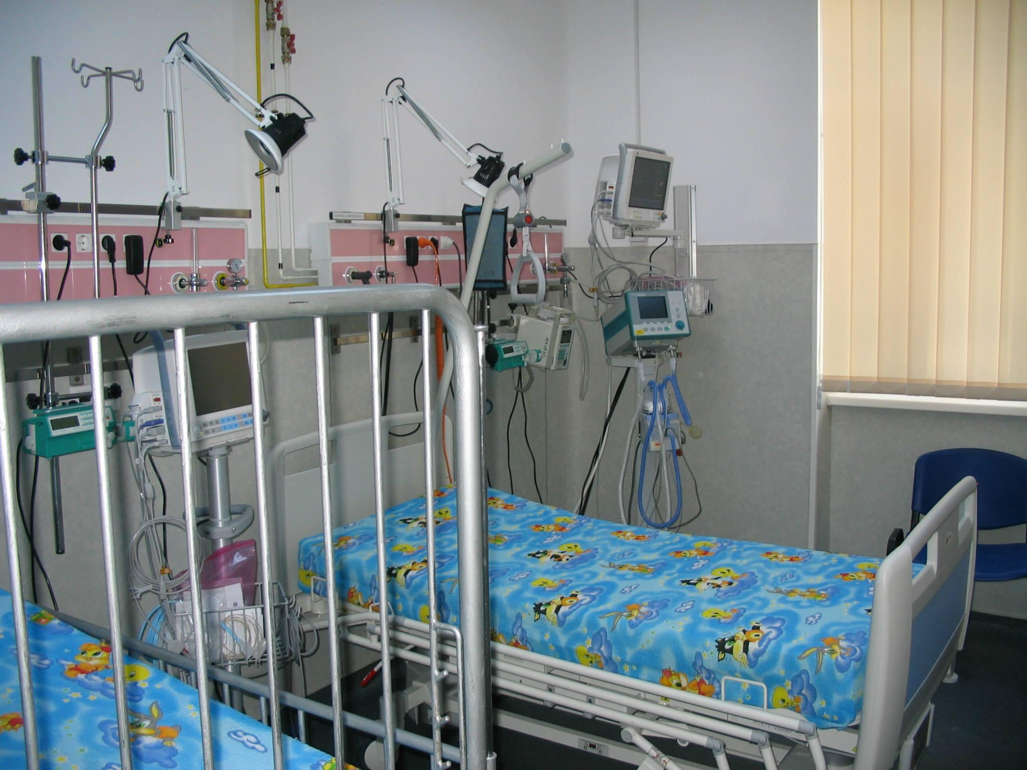 Aparatura de ultima generatie cumparata numai din donatii, la Spitalul de Copii din Cluj
