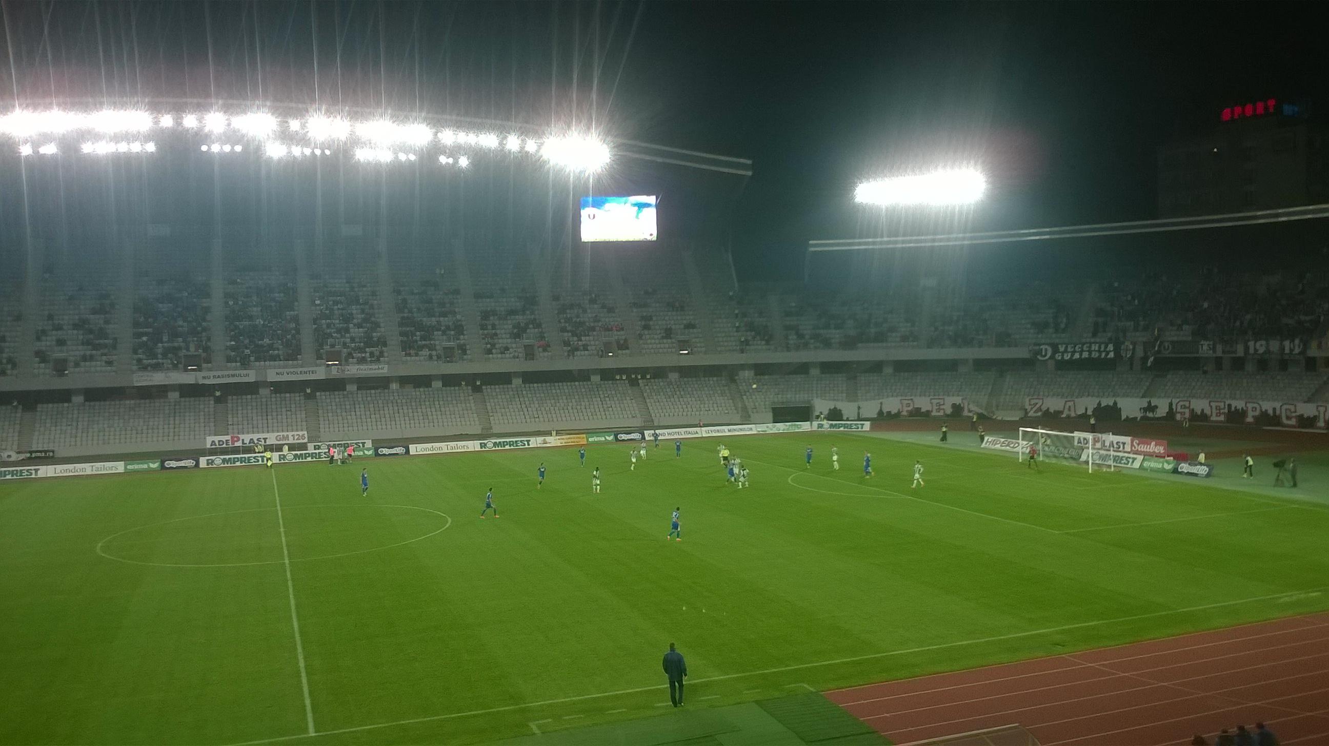 "Primul succes pentru Ogăraru. ""U"" Cluj vs Pandurii Târgu Jiu 2-0"