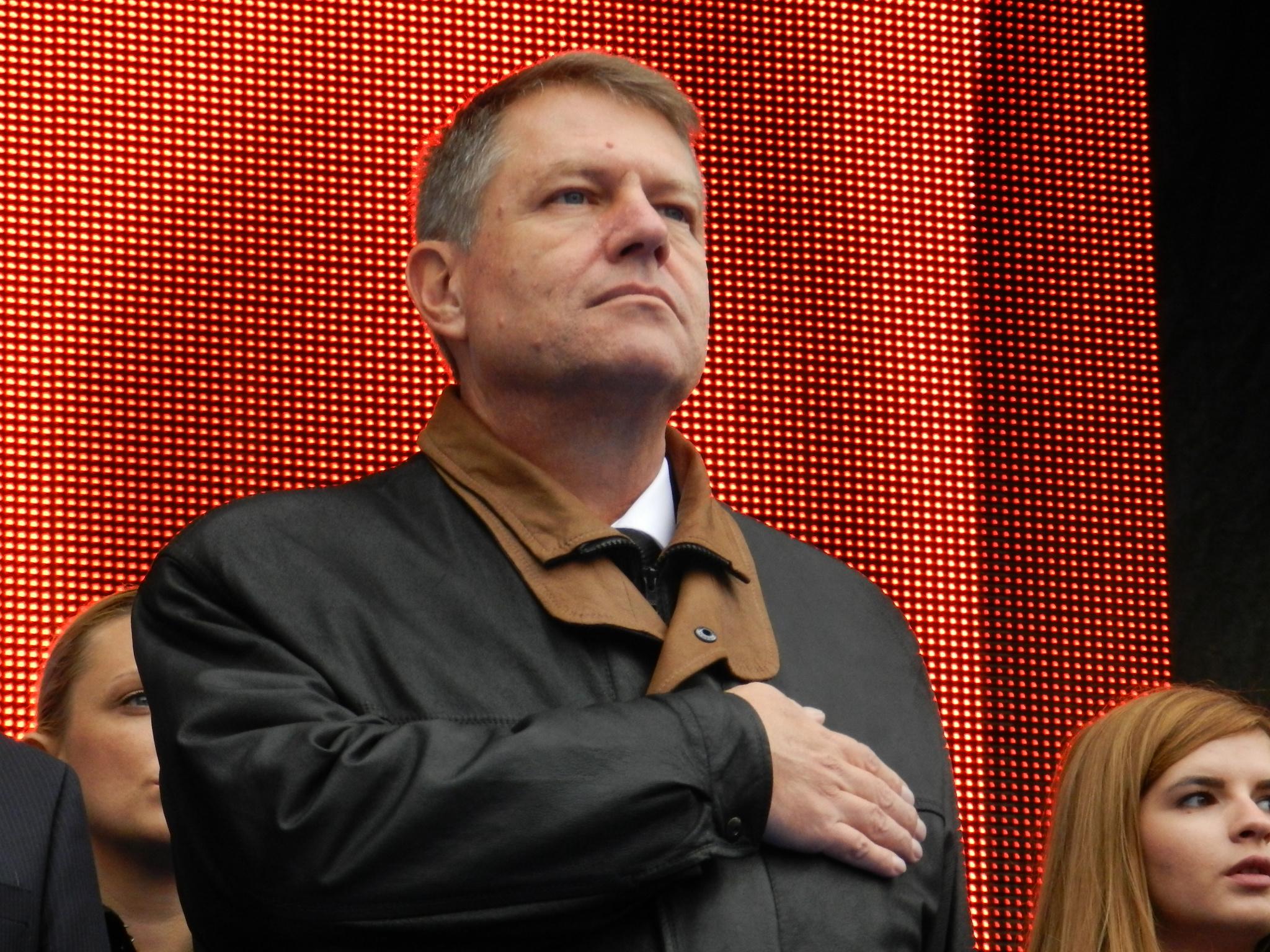 Prima declaratie oficiala a presedintelui ales Klaus Iohannis