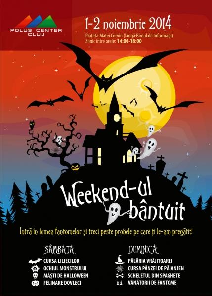weekend bantuit halloween polus
