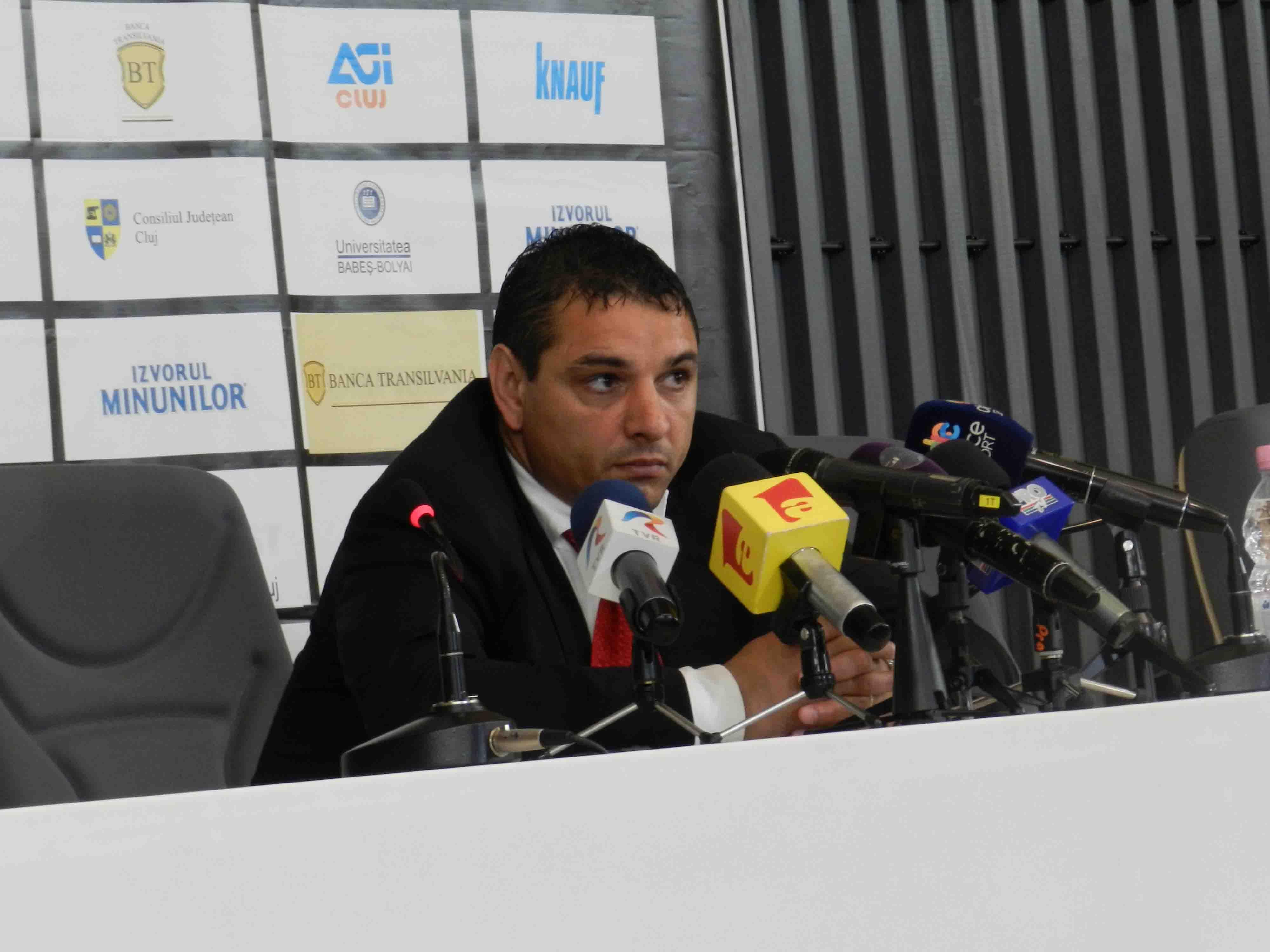 """Ganea, bun de plată! A pierdut procesul cu """"U"""" Cluj și trebuie să plătească 60.000 euro"""