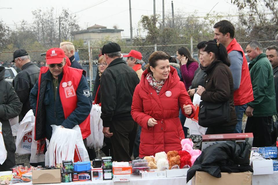 Aurelia Cristea, în campanie electorală la OSER
