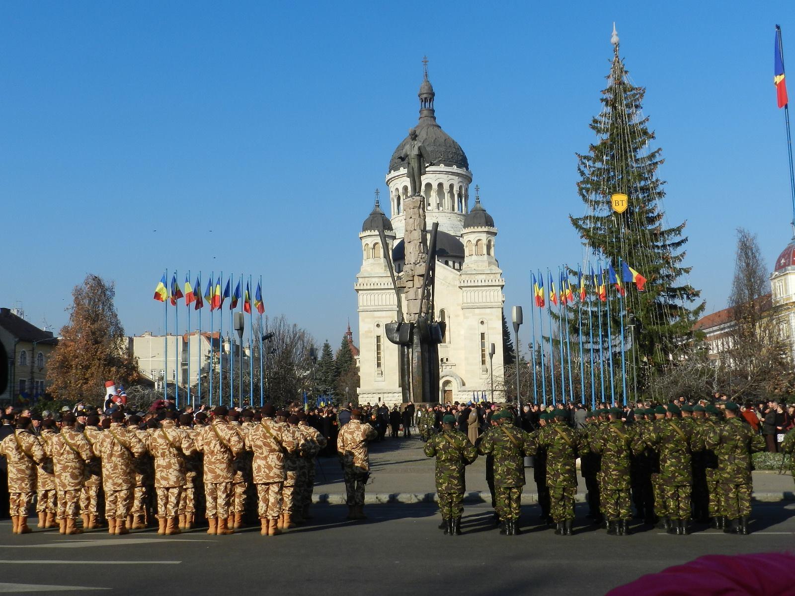 parada militara 1 decembrie